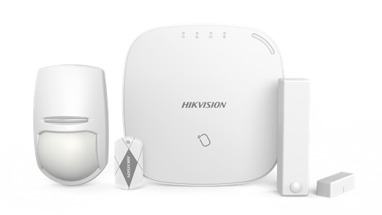 hikvision wireless control panel kit